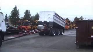 Sold! 2008 Sturdyweld Tri/Axle 15 Yard Dump Pup Trailer Aluminum bidadoo.com