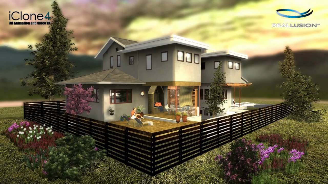 Sketchup 8 iclone 4 pro youtube for Mobilia sketchup 8