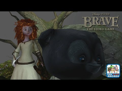 Brave: The Video Game - Getting Help from Merida's Baby Bear Bros (Xbox One Gameplay)