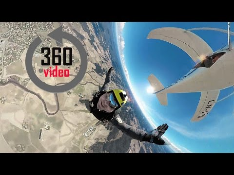 360° | Skydiving in Norway  – Virtual Reality