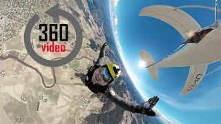 360° | Skydiving in Norway  - Virtual Reality