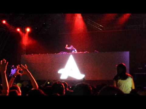 Afrojack live in Bahrain 2014