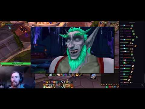 Asmongold Reacts to 'The True Story of The ISHNU-ALAH Guy! - (Warcraft Lore)' by Nixxiom