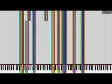 [Black MIDI] Music using only Sounds from Windows 98 & XP but with original audio (No MIDI Audio)