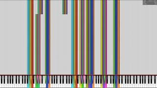 [Black MIDI] Music using ONLY Sounds from Windows 98 & XP but with Original Windows Sounds
