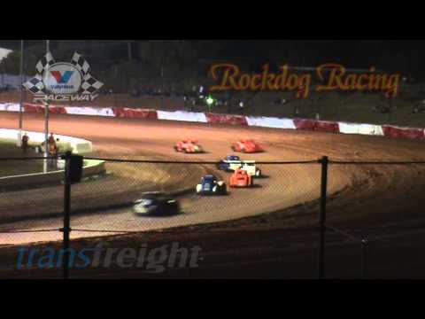 Legend Cars Round 1 - Heat Racing - Valvoline Raceway - Rockdog Racing Videos