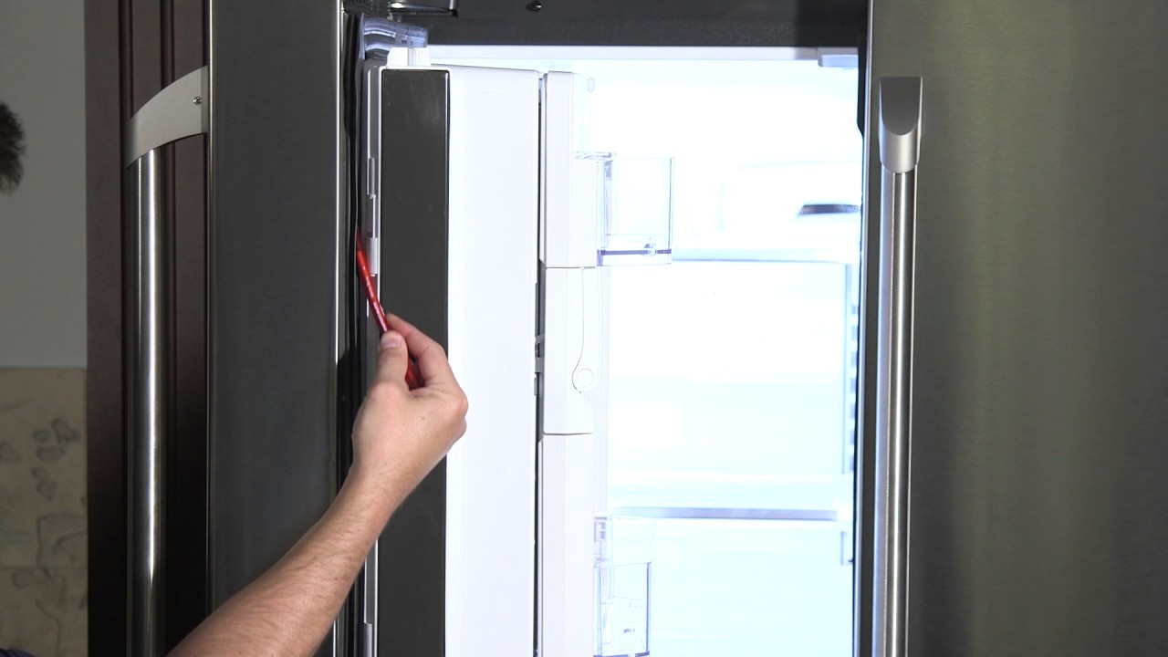 refrigerator a replace guide repair doors help to how door gasket