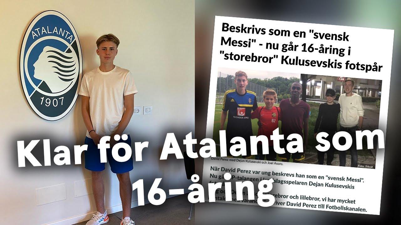 """Download """"Svenska Messi"""": Supertalangen David Perez är 16 år och klar för Atalanta i italien - Intervju"""
