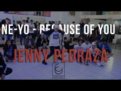 Ne-Yo - Because Of You | Jenny Pedraza Class | DC ANIVERSARY WS
