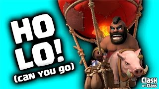 "Clash of Clans ""HoLoWiWi And Beyond"" Hogs and Balloons Doing Damage!"
