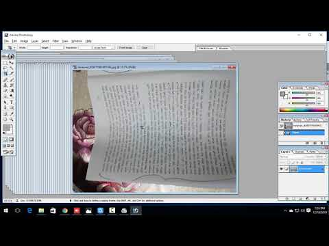 How To Edit  Fb Page Documents In Photoshop Cs7