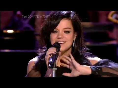 Lily Allen - The Fear & Who'd Have Known/Shine (ft. Take That)