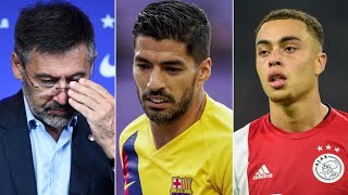 Barcelona Bayern want Sergino Dest Luis Suarez is in Italy Motion of No Confidence SUCCESS