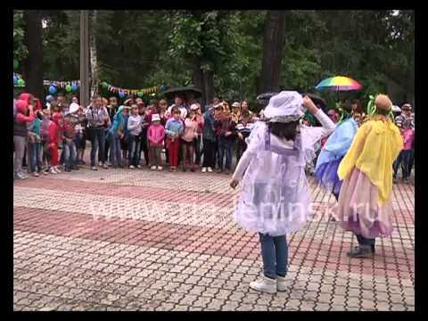 Несмотря на погоду, праздник Ивана Купалы в Ленинске-Кузнецком прошел весело