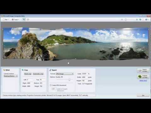 Panorama Tutorial (using Microsoft ICE)