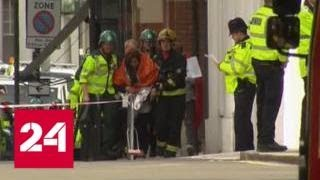 Взрыв в метро Лондона признали терактом