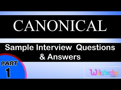 canonical top most interview questions and answers for freshers / experienced online videosLectures