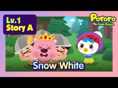 [Lv.1] Snow White   What if Petty goes with the prince?   Bed time story for kids   Pororo