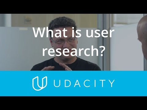 Tomer Sharon: What is User Research? | Validation | Product Design | Udacity