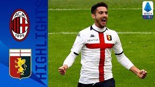 Milan 1-2 Genoa   Ibrahimović And Pandev Score As Visitors Take Victory   Serie A Tim