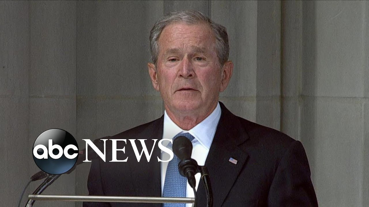 George W. Bush tribute to John McCain