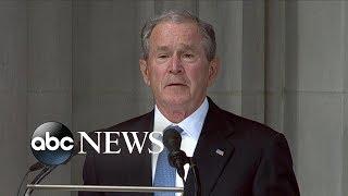 George W. Bush tribute to John McCain
