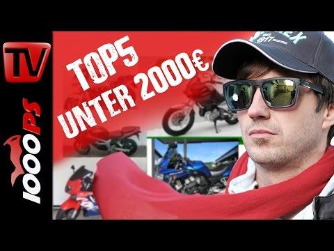 Top 5 - Motorräder unter 2000 Euro - Günstig und zuverlässig Foto