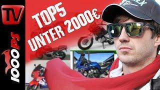 Top 5 - Motorräder unter 2000 Euro - Günstig und zuverlässig