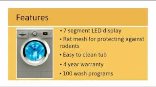 ifb senorita aqua sx washing machine review