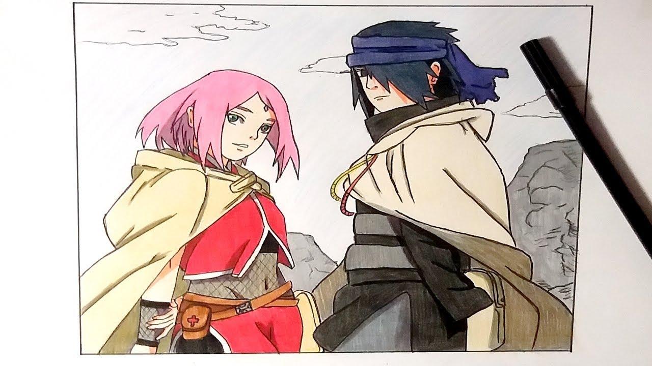 Sakura And Sasuke S Travels