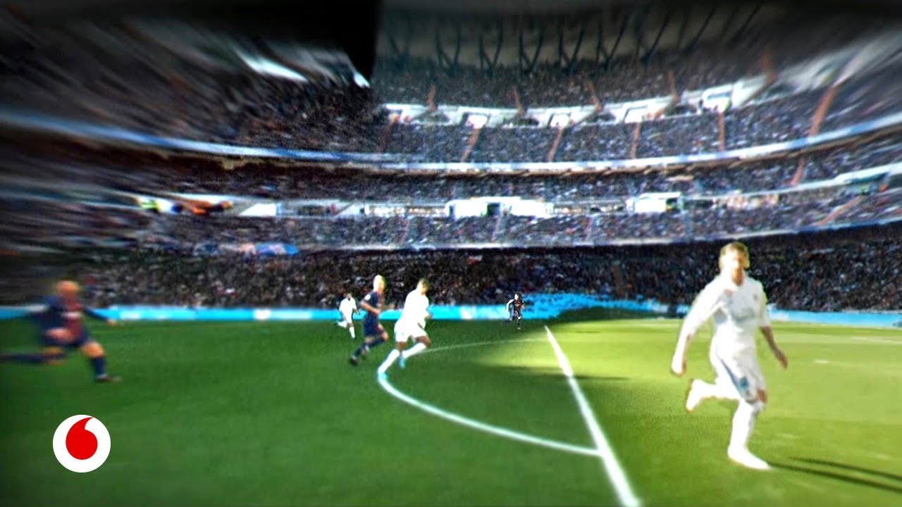 Así se ven los partidos desde los ojos de Ronaldo o Messi