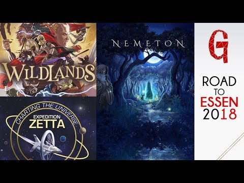 Road to Essen #03 : Nemeton - Wildlands - Expedition Zetta