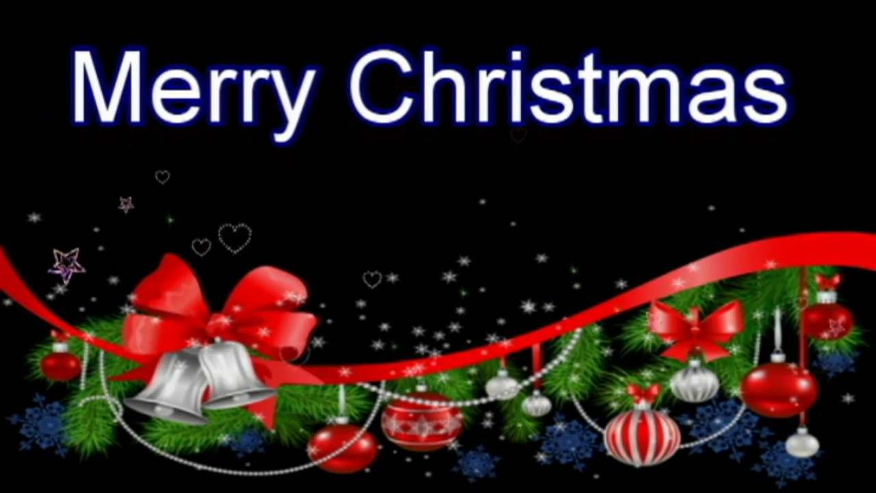 merry christmas wishesanimatedgreetingssmsquotessayingswallpapers christmas musice card youtube