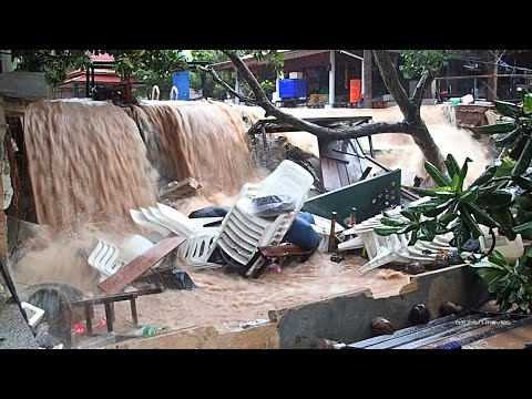 Koh Tao Flood  - January 6th 2017