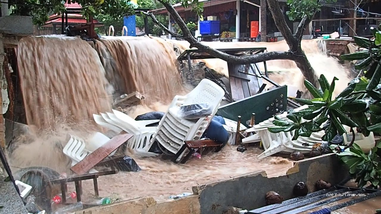 Koh Tao Flood - January 6th 2017 - YouTube
