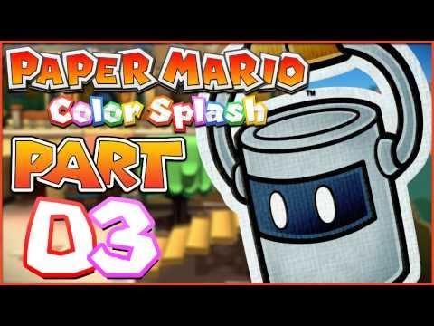 Paper Mario: Color Splash | Part 3 - Making A Splash