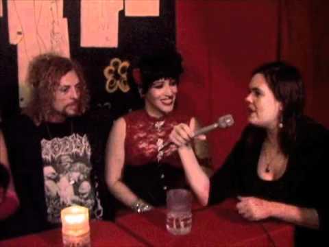 Interviews after Burlesk show