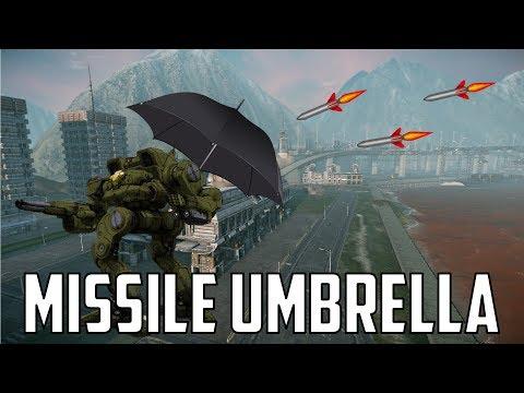 Mech Build - AMS Umbrella Kitfox
