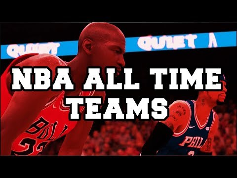 NBA 2K18 GREATEST NBA LEGENDS OF ALL OF TIME FROM EACH FRANCHISE TRAILER !!!! LAKERS, BULLS AND MORE