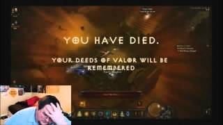 Francis Loses a Level 60 MONK on Hardcore Diablo 3