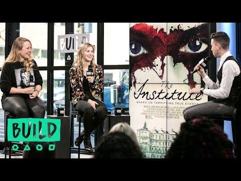 "Pamela Romanowsky And Allie Gallerani Discuss Their Film, ""The Institute"" | BUILD Series"