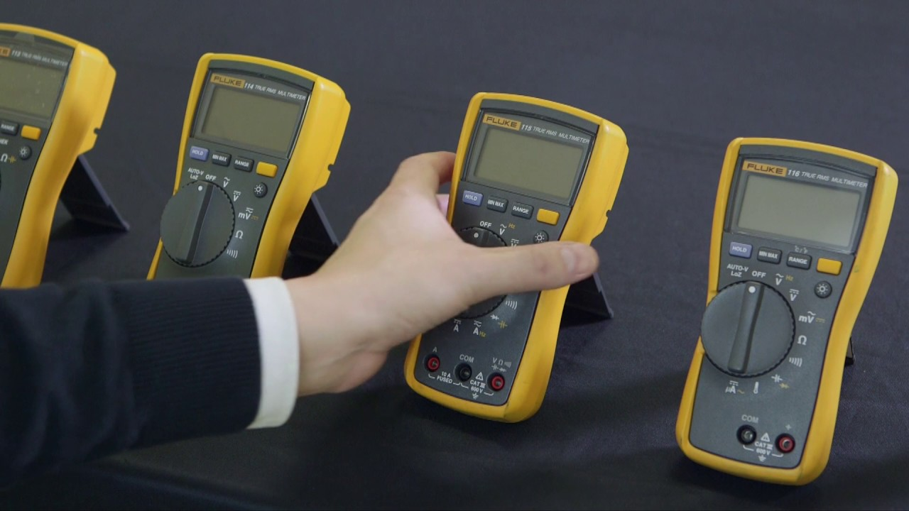 Multimeter digital FLUKE 116 TRMS AC 6000 Digits 600 VAC 600