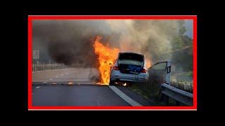 Valdsam brand i bilskrot pa orust