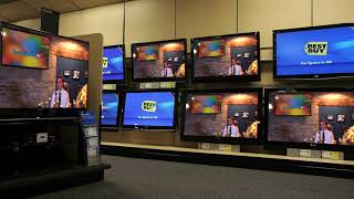 Tequila but it's playing on the televisions at Best Buy