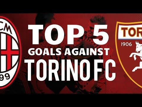 TOP 5 BEST GOALS AGAINST TORINO FC !! HD Compilation | MilanActu HD