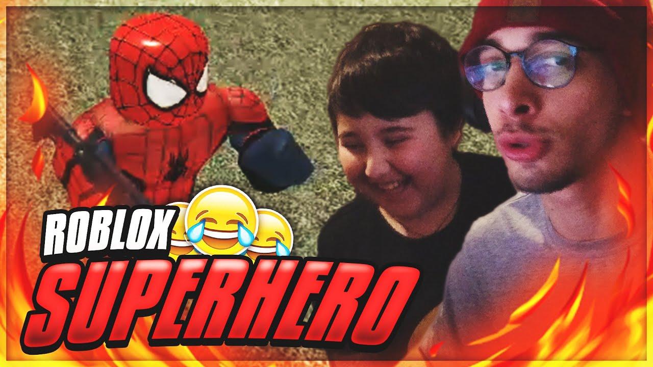 სპაიდერმენობა მინდოდა! Roblox Superhero დათუნასთან ერთად