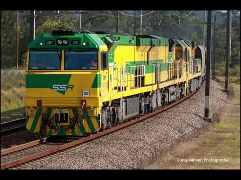 50 More Trains in 15 Minutes Compilation - Australian Trains, New South Wales