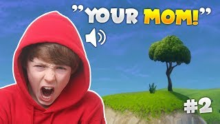KID GETS MAD OVER A KILL STEAL! | Fortnite Battle Royale: Funny Voice Chat Moments Ep. 2