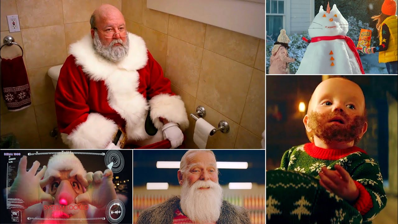 TOP 10 Funniest Christmas Holiday Commercials EVER! Part 1