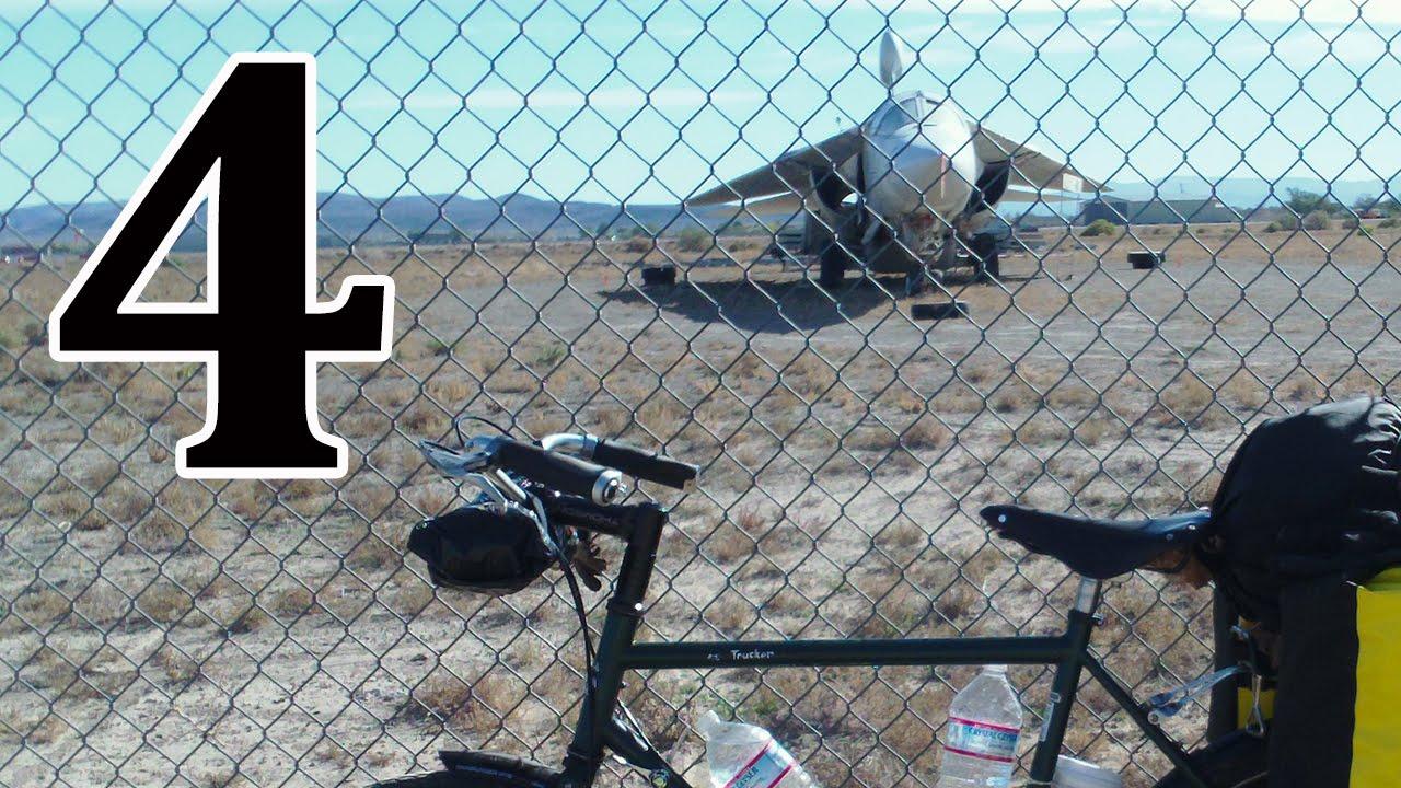 bicycle touring Reno NV to Hawthorne NV - YouTube